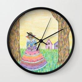 one eyed princess Wall Clock