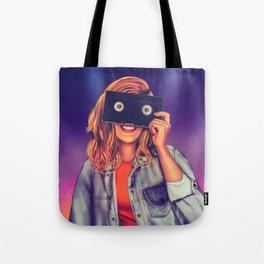 VHS Vision Tote Bag