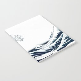 The Great Wave - Halftone Notebook