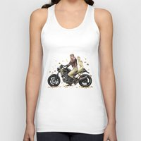jjba Tank Tops featuring Vintage Melone by D.Maula