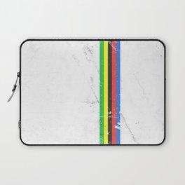 Jersey minimalist cycling Laptop Sleeve