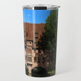 Old Architecture  Nuremberg Travel Mug