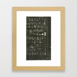 Through Framed Art Print
