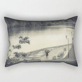 Lonely Walk Rectangular Pillow
