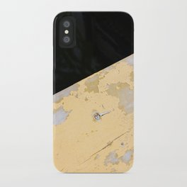 Chipped Paint and the Dark Deep iPhone Case