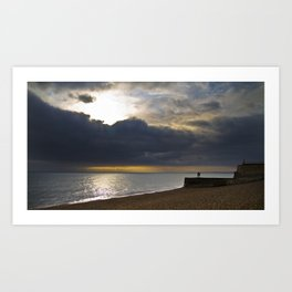 Brighton Sunset Art Print
