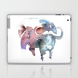 African buffalo / Abstract animal portrait. Laptop & iPad Skin