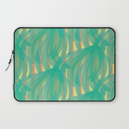 trippy leaves in the breeze Laptop Sleeve