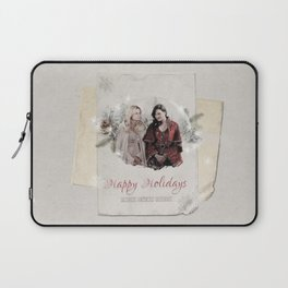 OUAT HAPPY HOLIDAYS // Swan Queen Laptop Sleeve