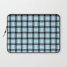Pastel Blue Weave Laptop Sleeve