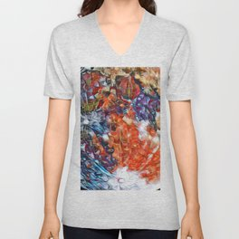 Graffiti Moon Unisex V-Neck