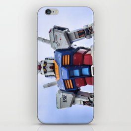 Gundam Stare iPhone Skin