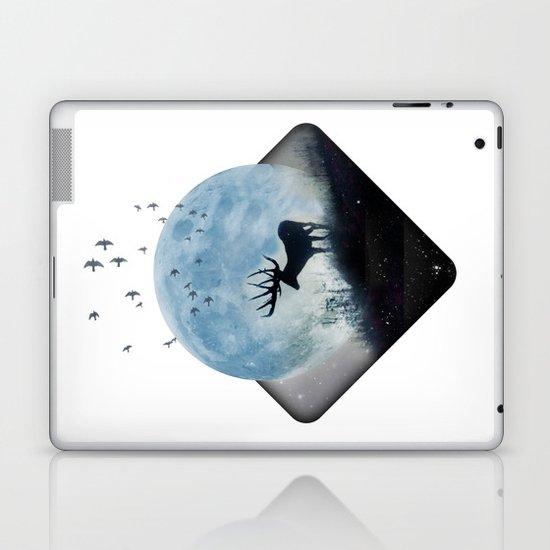 blue moon spill Laptop & iPad Skin