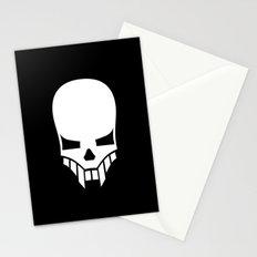 Sinister Skull Stationery Cards