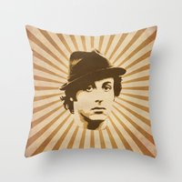 rocky Throw Pillows featuring Rocky by Durro