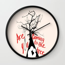 Come to the Tree Wall Clock