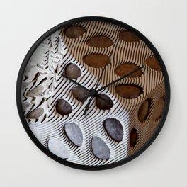 Zebra Mesh Wall Clock