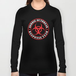 Zombie Outbreak Responce Team Long Sleeve T-shirt