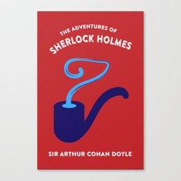 The Adventures of Sherlock Holmes Canvas Print