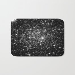 staRs Black & White Bath Mat
