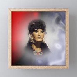 in the showcase -2- Framed Mini Art Print