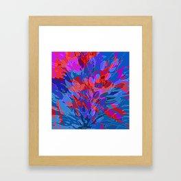 exploding coral Framed Art Print