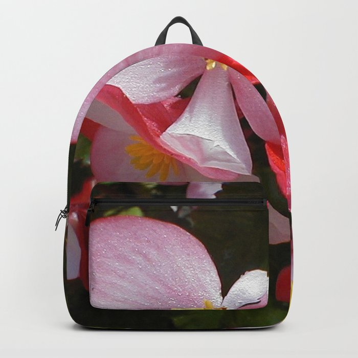 Begonia in the Rose Garden Backpack