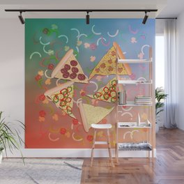 Pizza (A Reverie) Wall Mural
