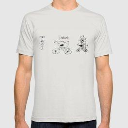 UX/UI Bike Sketch - User Experience Rocks T-shirt