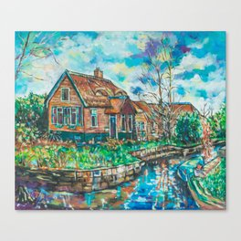 Giethoorn Venice of the Netherlands Canvas Print