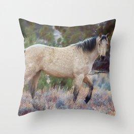 Beautiful Buckskin Throw Pillow