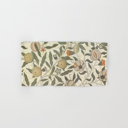 William Morris Fruit Pattern Hand & Bath Towel