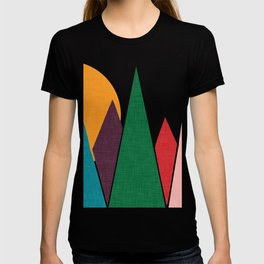 solar mountain #homedecor #midcentury T-shirt