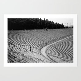Edge of History Art Print