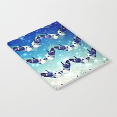 Bostons In The Sky With Diamonds Notebook