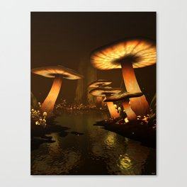 Enchanted Forest - Meltdown Canvas Print