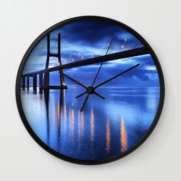 Vasco Da Gama Bridge Wall Clock