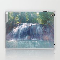 Turquoise Waterfall Laptop & iPad Skin