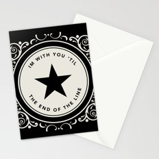 The End Of The Line Stationery Cards