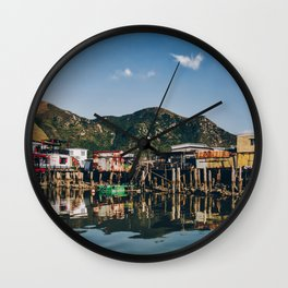 Stilt Houses in Tai O Wall Clock