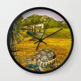 Wind Punk Eclipse Wall Clock