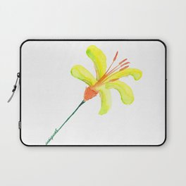 flor de cítrico Laptop Sleeve