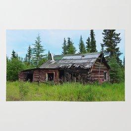 Alaskan Frontier Cabin Rug