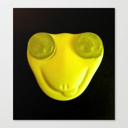 Yellow Face Canvas Print