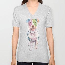 American Bull Terrier Unisex V-Neck