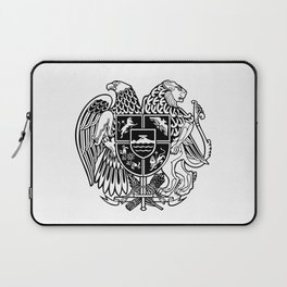 ARMENIAN COAT OF ARMS - Black Laptop Sleeve