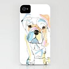 Bulldog Colour iPhone (4, 4s) Slim Case