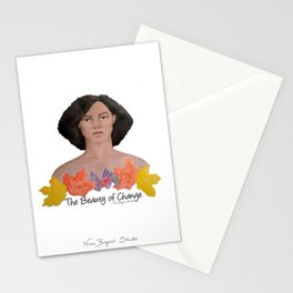 The Beauty of Change Stationery Cards