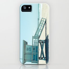 Hermosa Beach Lifeguard Tower 19 iPhone Case