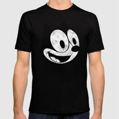 Felix The Cat 2 Black X-LARGE Mens Fitted Tee